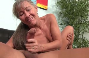 Glam huge-titted mummy  off firm beef..