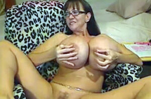 Cougar With Silicone Udders