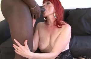 Mature Woman Bi-racial Hard-core Twat..