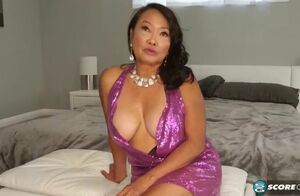 70 yr senior japanese gilf poked