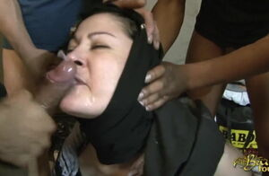 Hijabi Muslim getting Screwed in both..