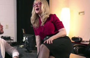 Teenage Office Secretary Porked By..