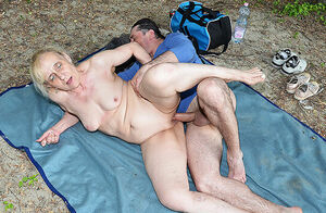 outdoor lovemaking with gross stepmom