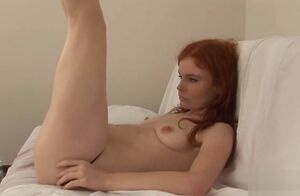 Voluptuous nubile is stretching..