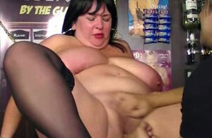 porking for large boobed barmaid