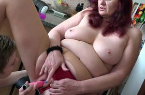 OLDNANNY mature and virgin lesbos