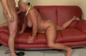 Chesty Grandmother Ass-fuck