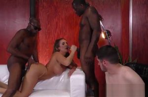 Cuckolding female dom ho spunked with..