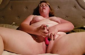 Red-haired wifey blows a load for her..